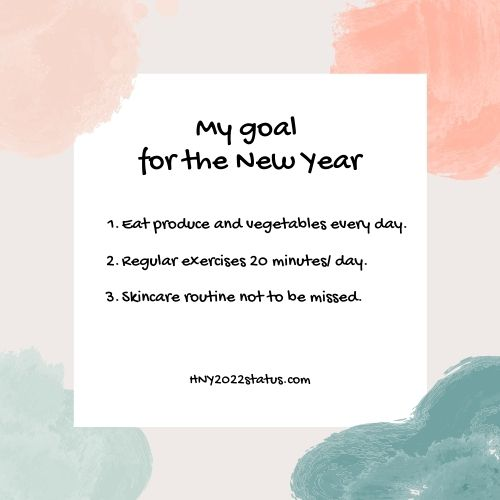 Happy New Year 2022 Resolutions