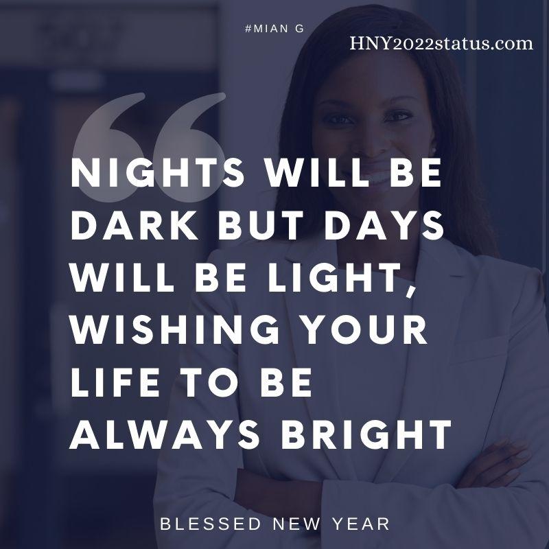 new year greeting card 2022