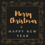 merry christmas and happy new year 2022 images