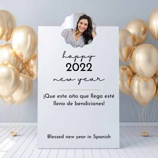 HAPPY NEW YEAR 2022 WISHES IN SPANISH