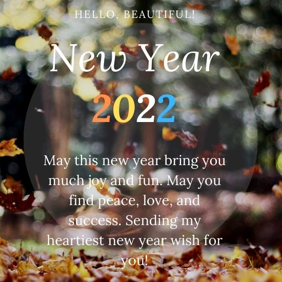 NEW YEAR BLESSINGS 2022