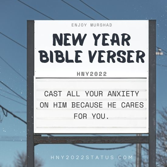 New Year 2022 Bible Verses